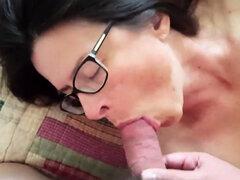 Rene Orgasmo y corrida en la boca