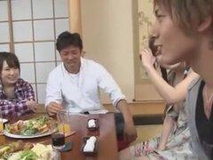 Más caliente puta japonesa Riri Kouda, Mikan Kururugi en Fabuloso JAV video