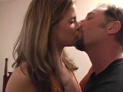 Increíble pornostar en mejor beso negro, video porno de cunnilingus