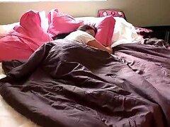 Bancos de Chloe le encanta quedarse en la cama
