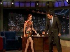 Emma Watson mejor piernas y Upskirt Pussy