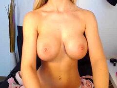 Impresionante chica Webcam rubia de perfectas tetas