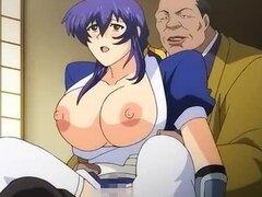Knockers increíblemente enormes de chica Anime.