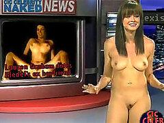 Tres celebridades bastante morenas sobre desnudos desnudas dejando al descubierto sus tetas turgentes